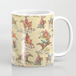 HORSE RIDING IN THE FIELD Coffee Mug