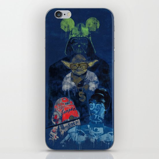 PoPWars iPhone & iPod Skin