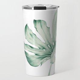 Monstera Leaf 1 Travel Mug