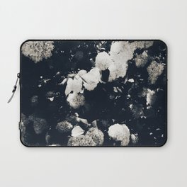 High Contrast Black and White Snowballs II Laptop Sleeve