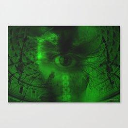"""""""Oculus Rising"""" Dark surrrealism Canvas Print"""