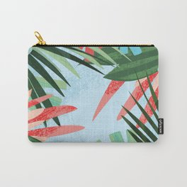 plant pattern Carry-All Pouch