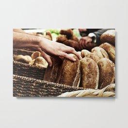 Bread not DEAD Metal Print