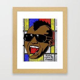 Head Banger Framed Art Print