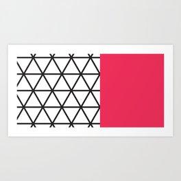 Pink Isodyctial Art Print