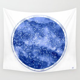Northern Stars Wall Tapestry