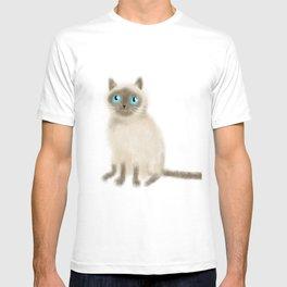 Chocolate Point Siamese T-shirt