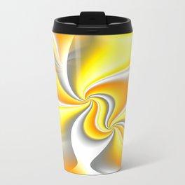 Turn Around (yellow) Travel Mug