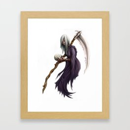 Regretful Reaper Framed Art Print