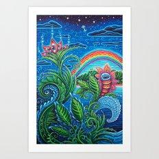 Maui Wowie Art Print