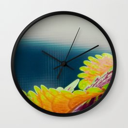 Coleus plant Wall Clock