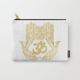 Hamsa - Om symbol Carry-All Pouch