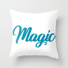 Science Make Your Own Magic Scientist Throw Pillow