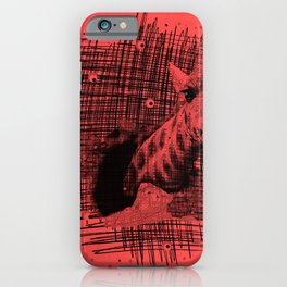 girafe pattern iPhone Case