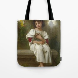 "Elizabeth Jane Gardner Bouguereau ""In the Garden"" Tote Bag"