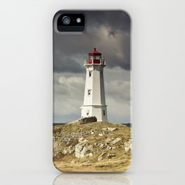Louisbourg Lighthouse iPhone Case