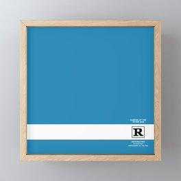 Rated R Framed Mini Art Print