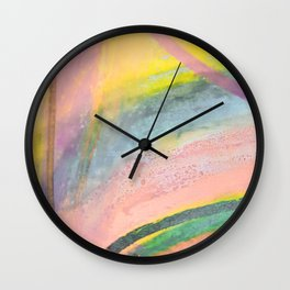Inside the Rainbow 5 Wall Clock