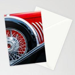 1932 Red and Black Duesenberg Phaeton Stationery Cards