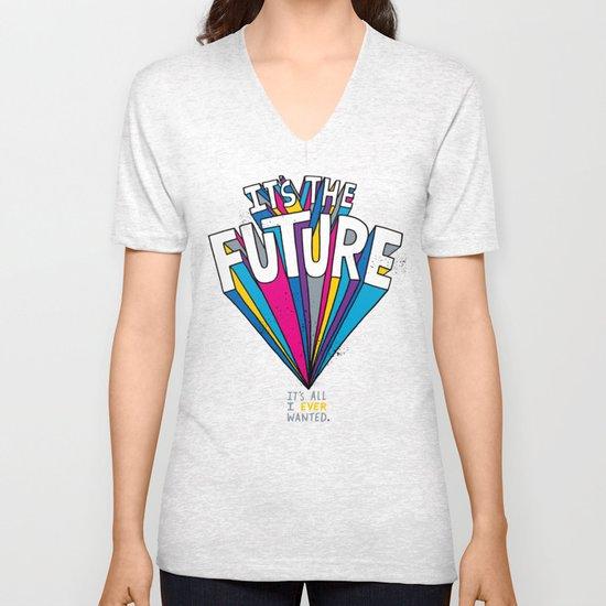 The Future Unisex V-Neck