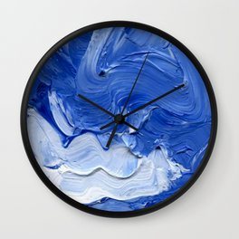 Lapeda Textile Art - 9 Wall Clock