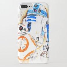 R2d2&BB8 iPhone 7 Plus Slim Case