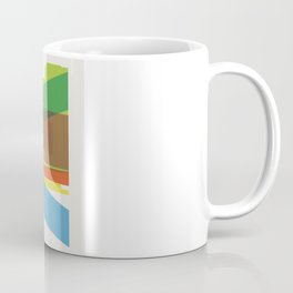 Shapes of Madrid. Accurate to scale. Coffee Mug