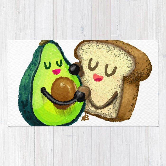 Avocado Toast Rug