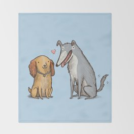 Lady & the Tramp Throw Blanket