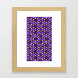 Purple Passion Framed Art Print