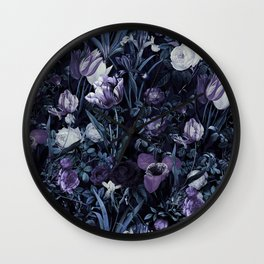 EXOTIC GARDEN - NIGHT XII Wall Clock