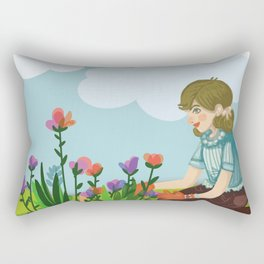 It's your time to bloom Rectangular Pillow