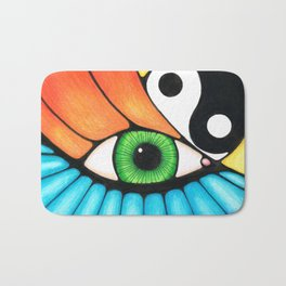 Philosophical Eye Bath Mat