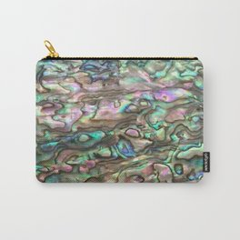 Natural Paua Abalone Carry-All Pouch