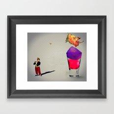 MixMotion: Jello Shots Framed Art Print