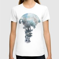 women T-shirts featuring Secret Streets II by David Fleck