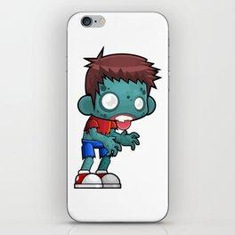 Zombie Boy - Funny Halloween Character iPhone Skin