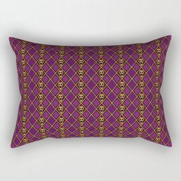 Bite The Dust Rectangular Pillow