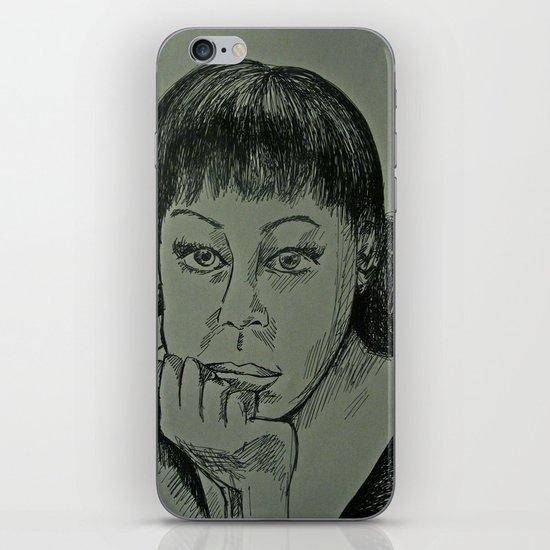 Adele Sketch iPhone & iPod Skin