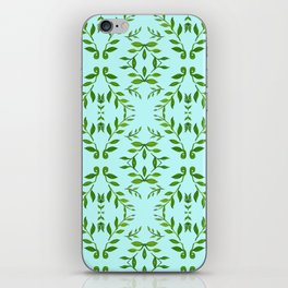 zakiaz holli aqua & green iPhone Skin