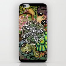 Baby Turtle Art Blend iPhone & iPod Skin