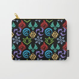 genshin pattern Carry-All Pouch