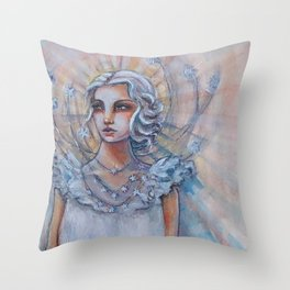 I Choose to Shine Bright Throw Pillow