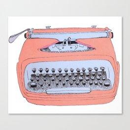 Easy Writer Canvas Print