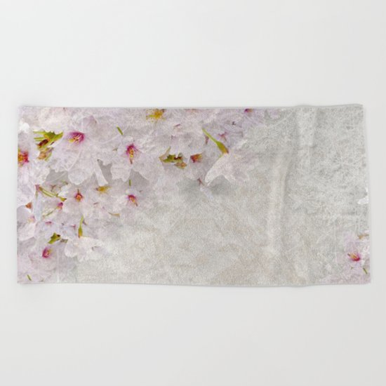 Cherry Blossom #1 Beach Towel