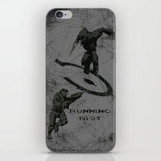 Running Riot - Halo iPhone & iPod Skin