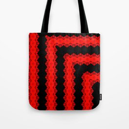 Blood Diamonds Bend Tote Bag