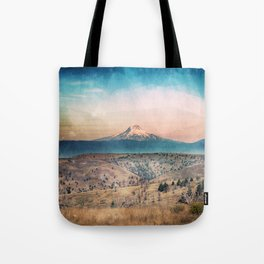 Desert Mountain Adventure - Nature Photography Tote Bag