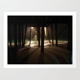 Dark Waters Art Print