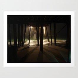 Dark Waters Art Print